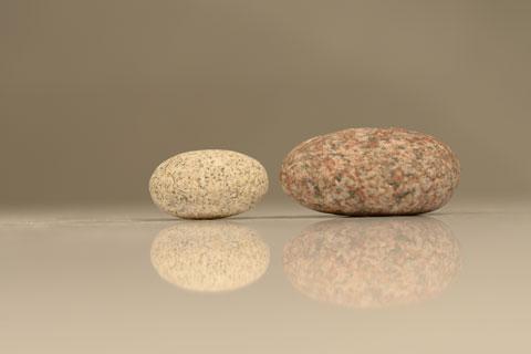 zwei steine